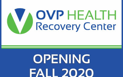 OVP HEALTH Recovery Center to open in Burlington, Ohio this Fall.